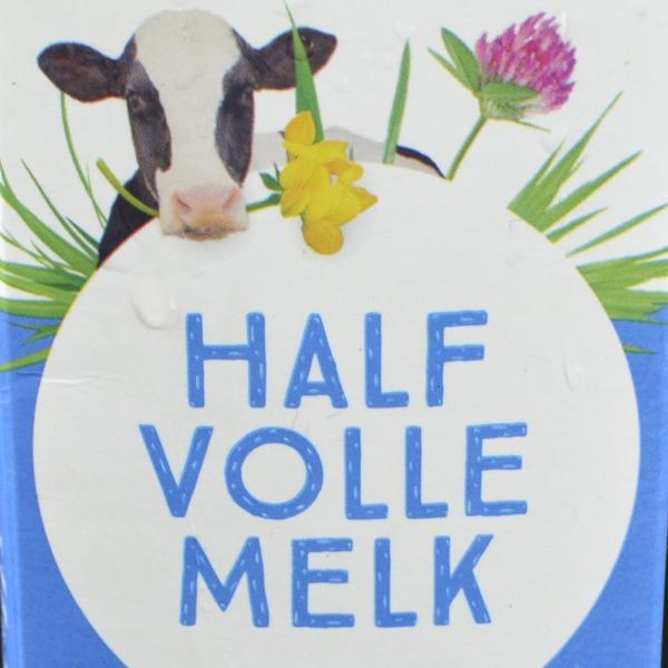 Melk halfvol