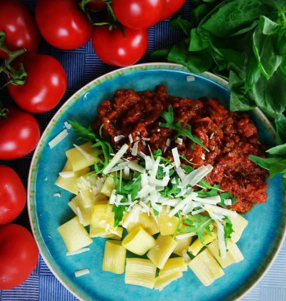 tuscan pasta als lunch