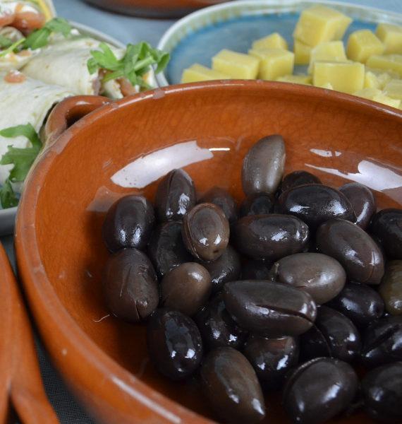 kalamata olijven als borrelhapje