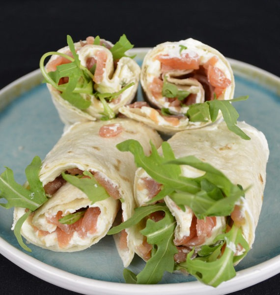 wrap zalm roomkaas